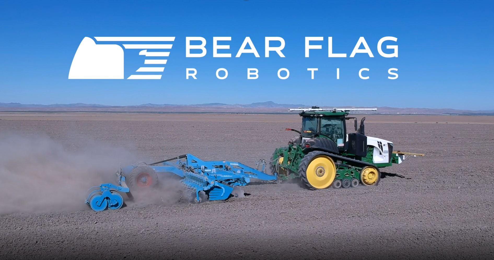 John Deere, une société américaine s'empare de la jeune pousse Bear Flag Robotics