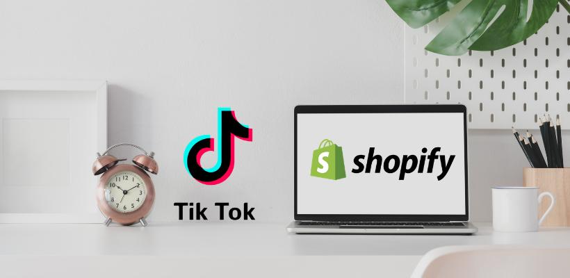 TikTok s'allie à Shopify