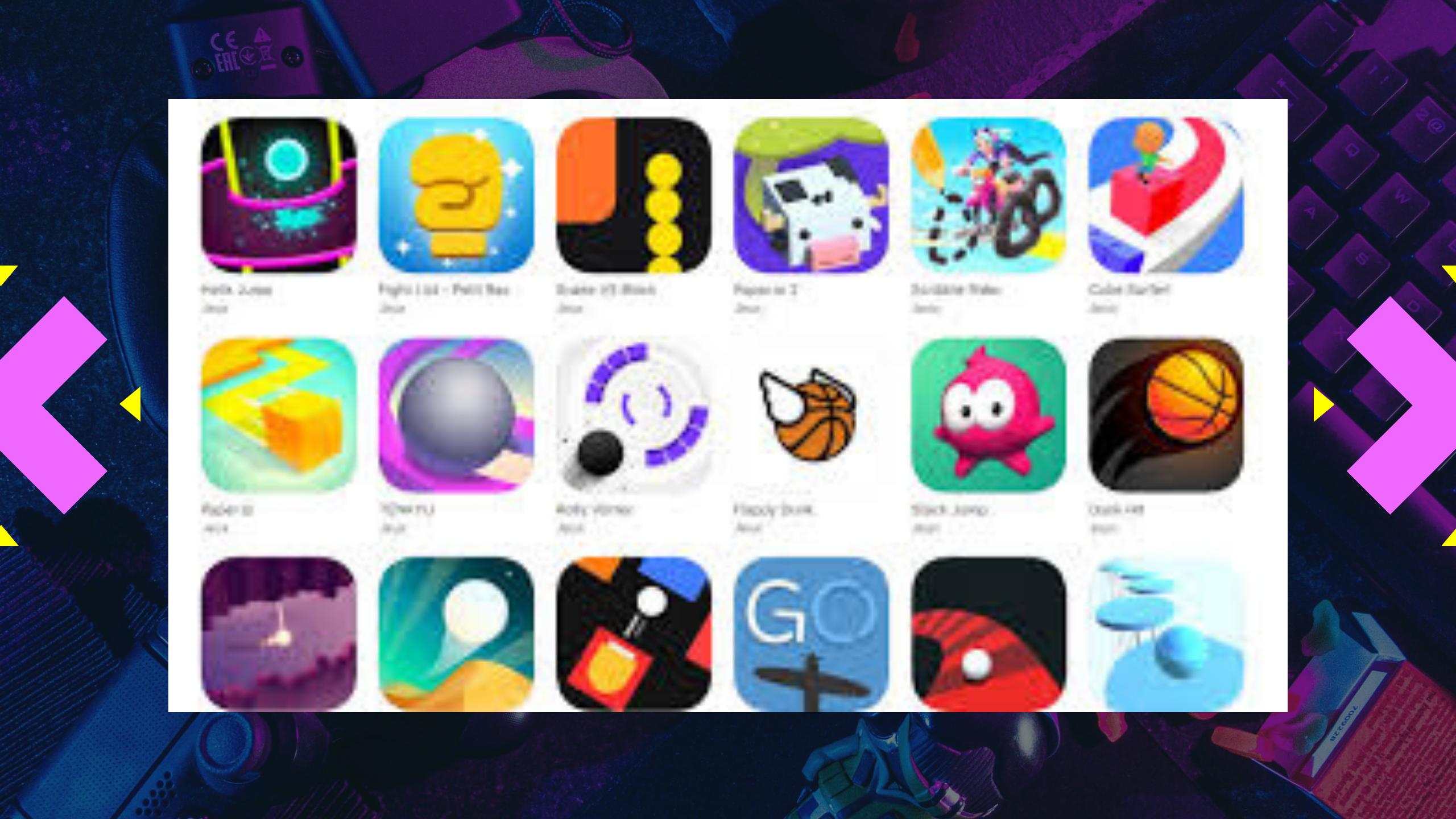 Voodoo la plateforme de jeu mobile