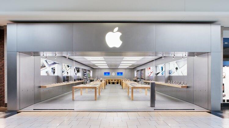 Une grande évolution dans Apple stores