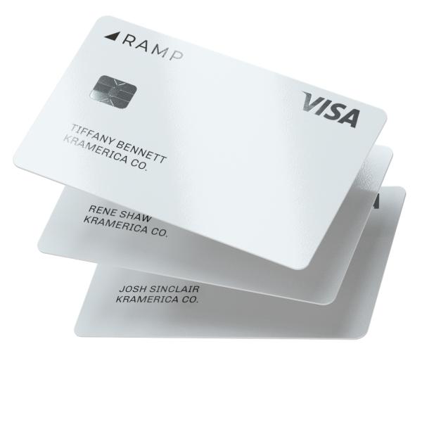 Ramp spécialisée sur les cartes de crédit d'entreprise