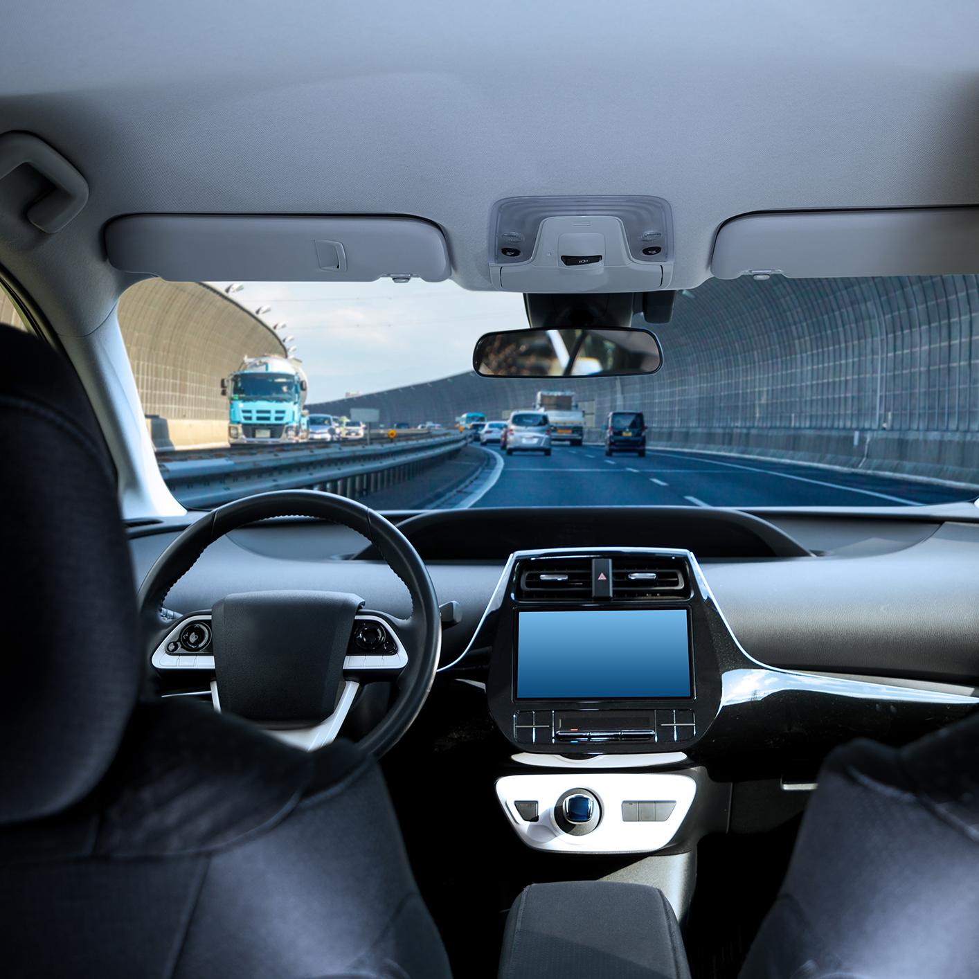 un réseau de taxis à conduite autonome