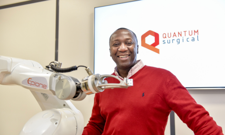 le robot médical Epione de Quantum Surgical